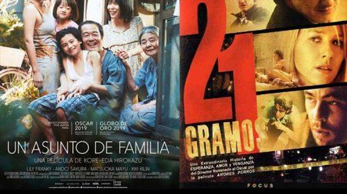 Proxeccións Cine Clube Carballiño 17 e 19 de Maio