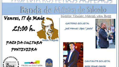 Concerto Das Letras Galegas. Banda de Música de Salcedo. Pontevedra