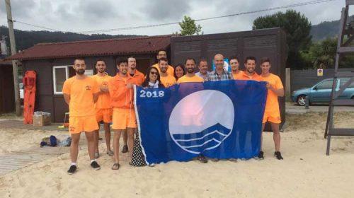 Bandeira Azul para catro praias de Bueu