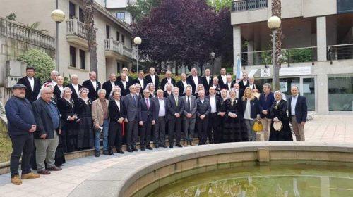 Ourense réndelle homenaxe á Coral de Ruada dándolle o seu nome a unha céntrica praza da cidade
