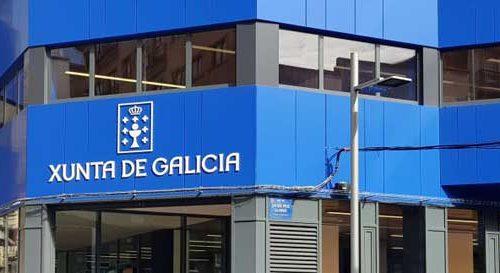 Lores e Nuñez Feijoo inauguran o edificio da Xunta de Galicia na rúa Benito Corbal. Pontevedra
